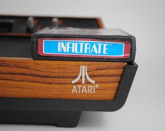 Infiltrate Atari 2600 Game and Manual