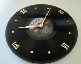 Milli Vanilli - Vinyl LP record album clock. - Girl You Know It's True - Upcycled