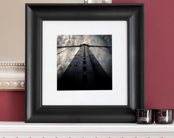Title:Iron Span-Fine art photography-Benjamin Franklin Bridge, Philadelphia