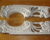 Set of 2 WoodenSalvaged Corbels