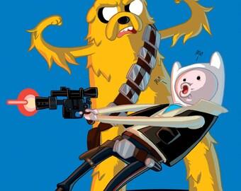 Finn Shot First!
