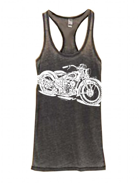 new womens vintage indian motorcycle print by freebirdcloth