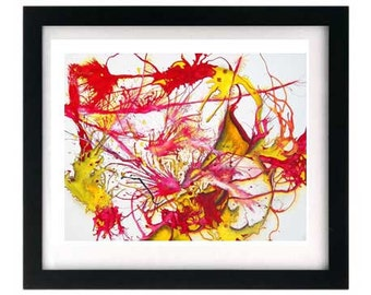 11 x 8.5 First Kiss - Small Signed Numbered Art Print - Free Shipping