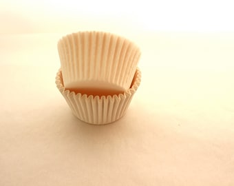 White Cupcake Liners mini Size Cups 100 Cake Pops and Cake Balls Liners
