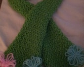 Anencephaly Awareness Loom knit Scarf