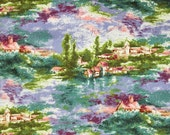 Monet's Countryside by Fabri-Quilt 86671 Cotton Print Fabric - OOP