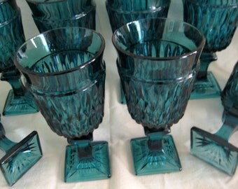Popular items for sherry glass on etsy - Square bottom wine glasses ...