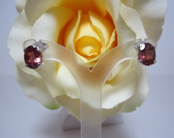 Masasi Bordeaux Garnet Earrings