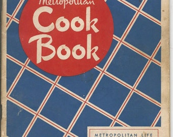 Vintage 1948 Metropolitan Cook Book
