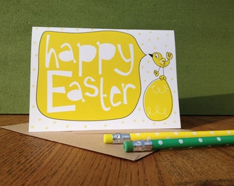 Easter Card. Can be personalised!