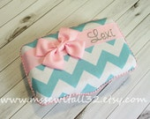 You Design It -  Chevron -  Medium Wipes Case / School Box / Crayon Box