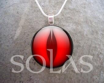 Dragon Eye Jewelry - Glass Pendant Necklace - Dragon Eye 1 - RETIRING 2017