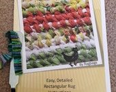Rag Rug Making Tool and Instruction Book