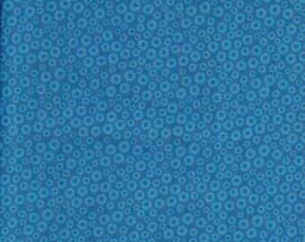 Blue monotone print