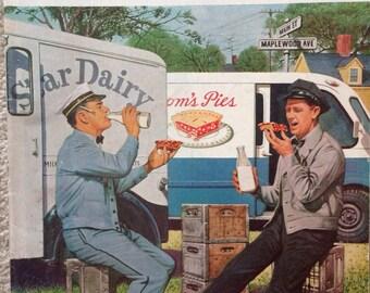 The Saturday Evening Post Magazine - October 11, 1958 - Cover Illustration Steven Dohanos