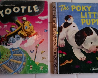 2 Classic  Little Golden Books, The  Poky Little Puppy and Tootle