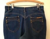 Gitano Jeans / Med/Large  / High Waist Jeans