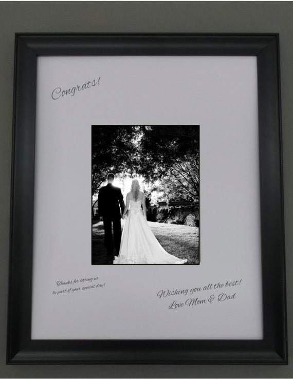 18x24 White Signature Mat For 11x14 Picture In Black 1