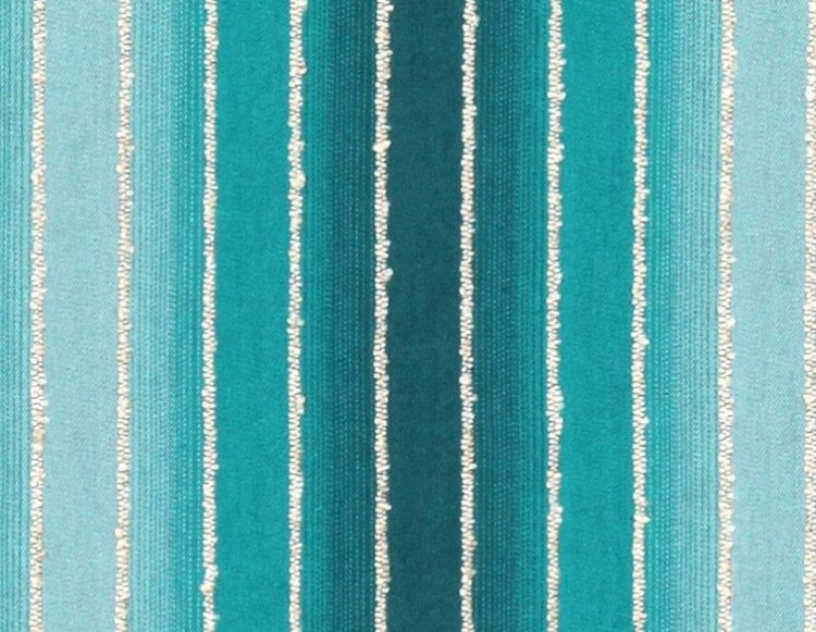 Teal Navy Ombre Upholstery Fabric Modern By Popdecorfabrics