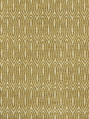 Modern Gold Upholstery Fabric by the Yard Geometric Gold