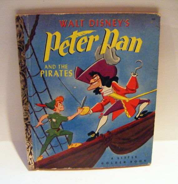 Disney Doppelgangers Pirates Edition: 1952 First Edition Walt Disney's Peter Pan And The Pirates