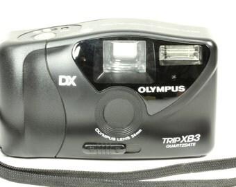 Olympus 35mm Camera Trip XB3 Quartzdate DX - Point and Shoot Retro Pocket Camera