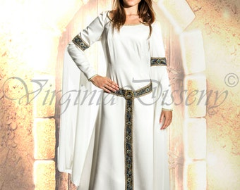 Medieval Fantasy Dress, for wedding and fantasy, fairy costumes