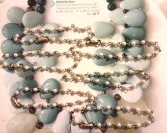 "4 Vintage 7-1/2"" Pearl Bracelets"