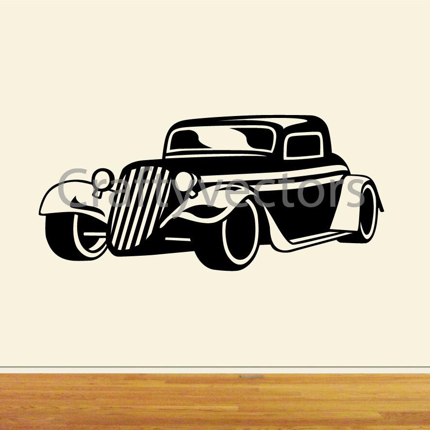 Hot Rod Cars Svg Vector Files