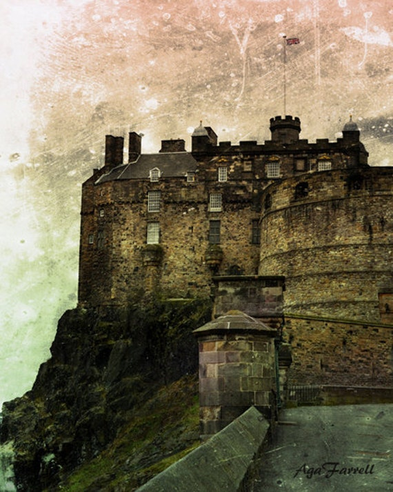 Edinburgh Castle Paintings For Sale | Saatchi Art