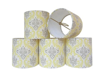 Chandelier Shade Sconce Clip-On Lamp Shade Lampshade Linen Hot