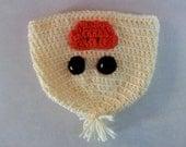 Handmade Crocheted Duck Hat