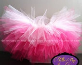 BEST SELLER! Ombré Tutu- Infant to Adult Options- You Choose Color/Size- Birthday, Holiday, Request Custom