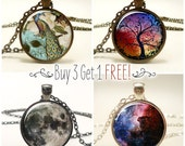 Necklace Sale, Buy 3 Pendants Get One Free, Jewelry Discount