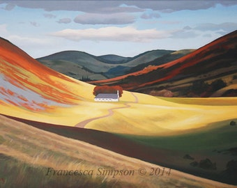 College Valley - Limited edition print (Large)