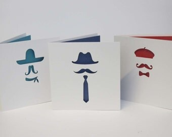 Movember Card Set