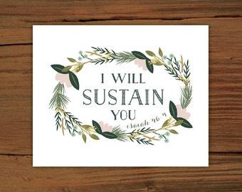 Isaiah 46:4 Print