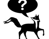 What does the fox say Vinyl Decal