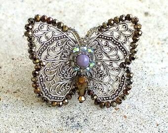Zophia Butterfly Ring