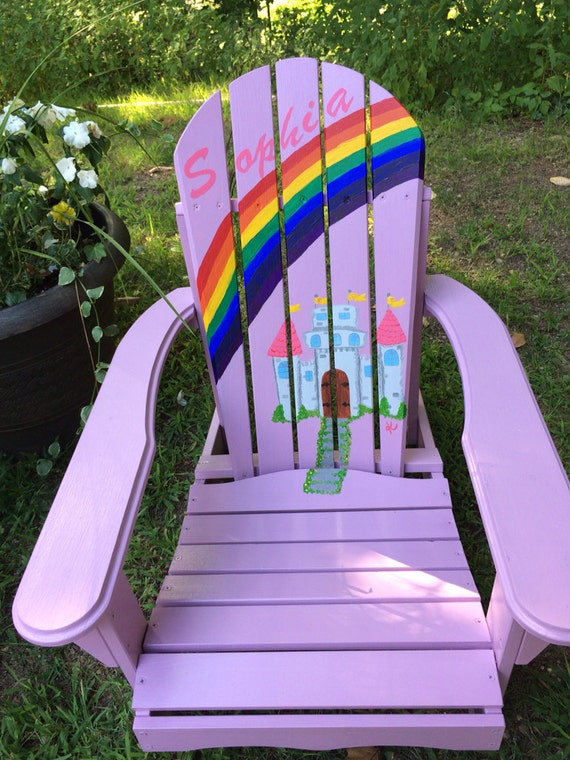 Children 39 S Adirondack Chair In Custom Colors And By Beachchairsbyk