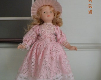 Porcelain Collectible Numbered Doll