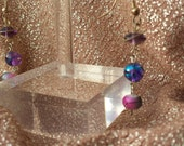 Shades of Purple Earrings please find this at WhimsicalTreasures2 here on etsy