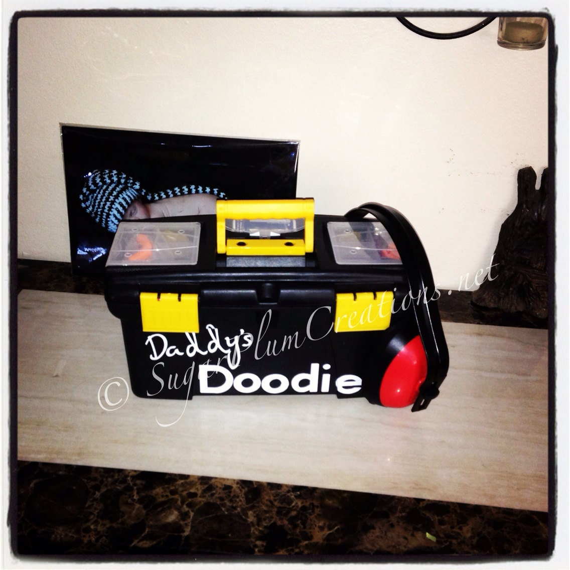 daddy 39 s doodie toolbox baby shower gift just for dads