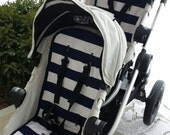 2 City select- baby jogger liners and 2 strap pads - custom fit stroller liner
