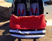 Double Stroller / pram Blanket -these will fit any side by side