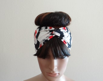Printed Headband. Head Wrap