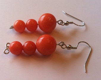 Orange Dream Earrings