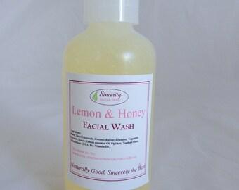 Facial Cleanser (Lemon & Honey)