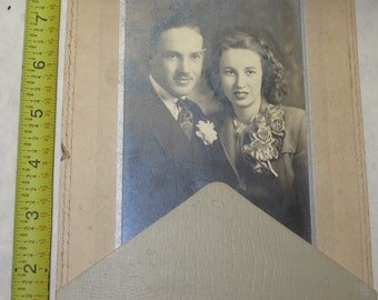 vintage b/w/ black and white photo photograph cute couple