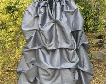 Steampunk Bustle Skirt Victorian Fashion Taffeta Costume